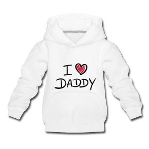 I Love Daddy - Kids' Premium Hoodie