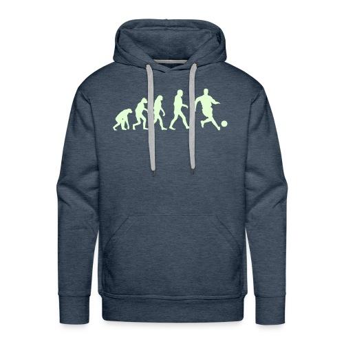 Football Evolution - Sweat-shirt à capuche Premium pour hommes
