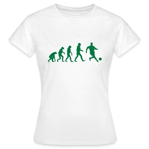 Football Evolution - T-shirt Femme