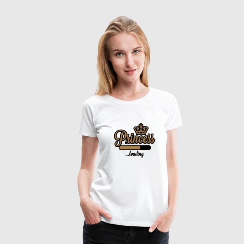 Princess loading - Frauen Premium T-Shirt
