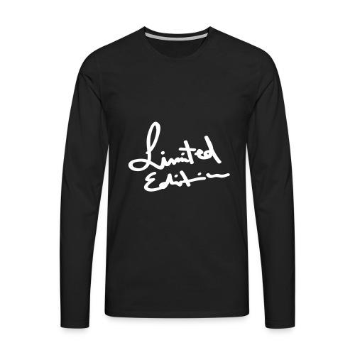 Black Limited Edition Jumper - Men's Premium Longsleeve Shirt