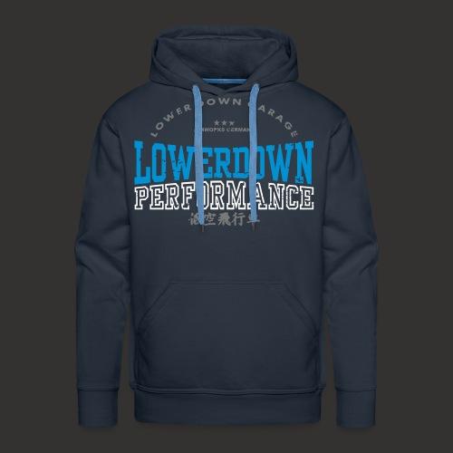 LOWERDOWN PERFORMANCE - Männer Premium Hoodie