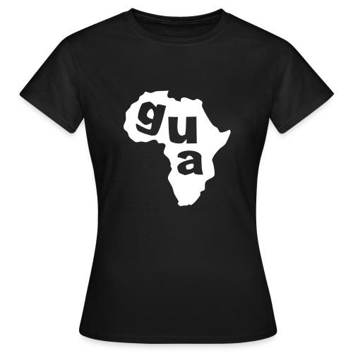 Gua Africa Ladies Map T-Shirt - Women's T-Shirt