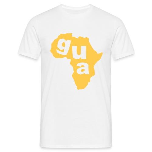 Gua Africa Mens Map T-Shirt (White) - Men's T-Shirt