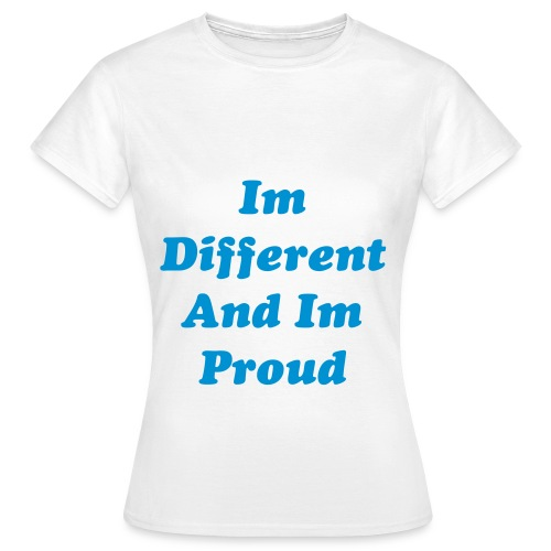 Womans Proud Tshirt  - Women's T-Shirt