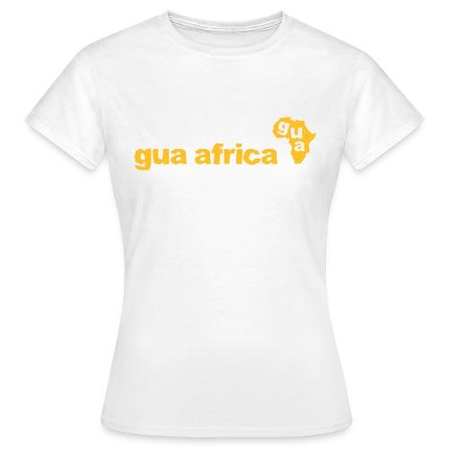 Gua Africa Ladies Logo T-Shirt (White) - Women's T-Shirt