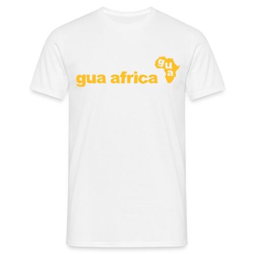 Gua Africa Mens Logo T-Shirt (White) - Men's T-Shirt