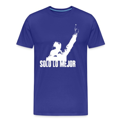 Solo Lo Mejor White - Men's Premium T-Shirt