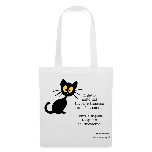 The cat isn't on the table shop bag - Tote Bag