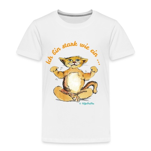 Ich bin stark wie ein Löwe - Kinder Premium T-Shirt