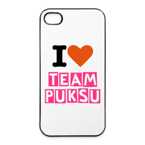 iPhone 4/4s Love Team Puksu - iPhone 4/4s kovakotelo