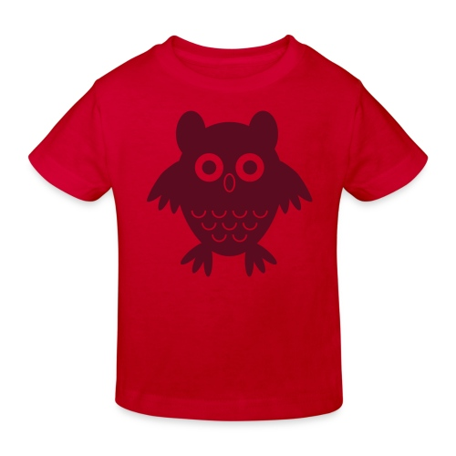 My friend the owl - Kids' Organic T-Shirt