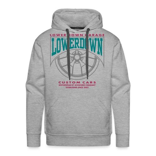LOWERDOWN WHEEL - Männer Premium Hoodie