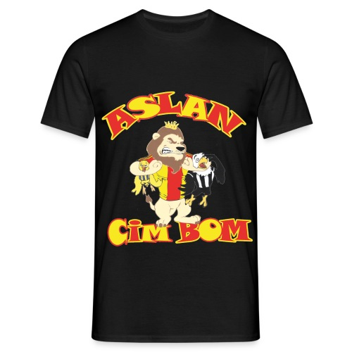Aslan CimBom - Mannen T-shirt