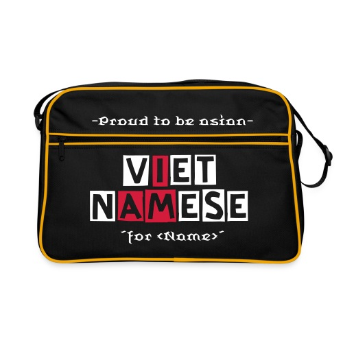 I AM VIETNAMESE-  Bag - Retro Tasche
