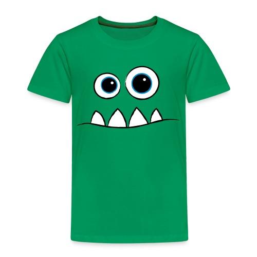 Monster Face - Kinder Premium T-Shirt