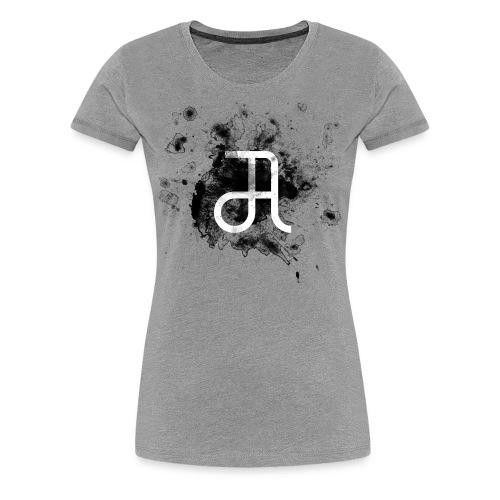 Glyphe Schwarz ♀ - Frauen Premium T-Shirt