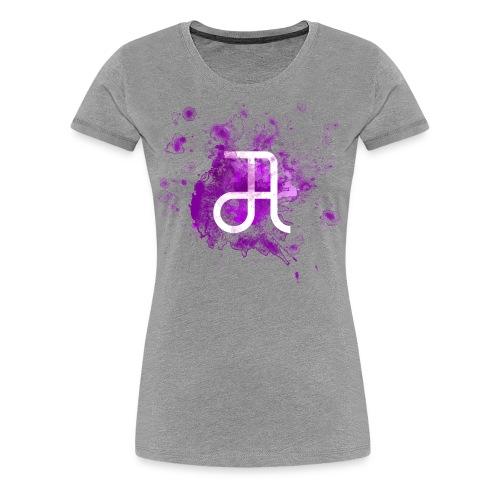 Glyphe Lila ♀ - Frauen Premium T-Shirt