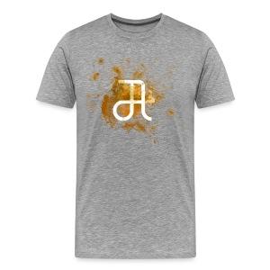 Glyphe Orange ♂ - Männer Premium T-Shirt