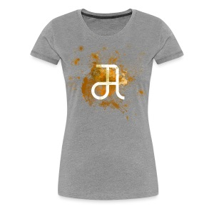 Glyphe Orange ♀ - Frauen Premium T-Shirt