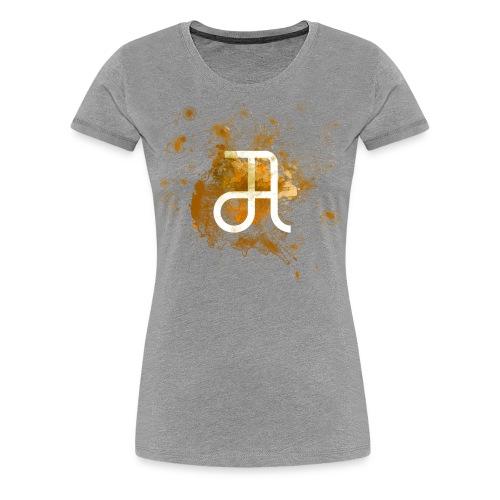 Glyphe Orange ♀ - Frauen Premium T-Shirt
