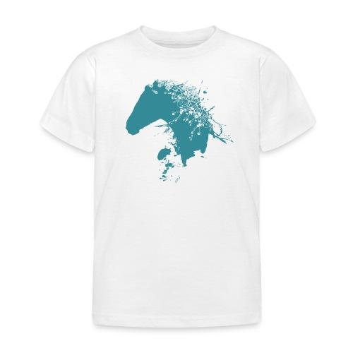Pferd mit Mähne  - Kinder T-Shirt