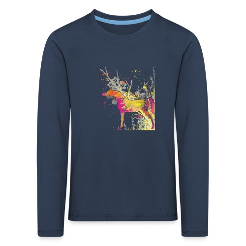 Araber Pferdchen T-Shirt - Kinder Premium Langarmshirt