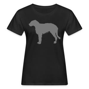 Irischer Wolfshund - Frauen Bio-T-Shirt