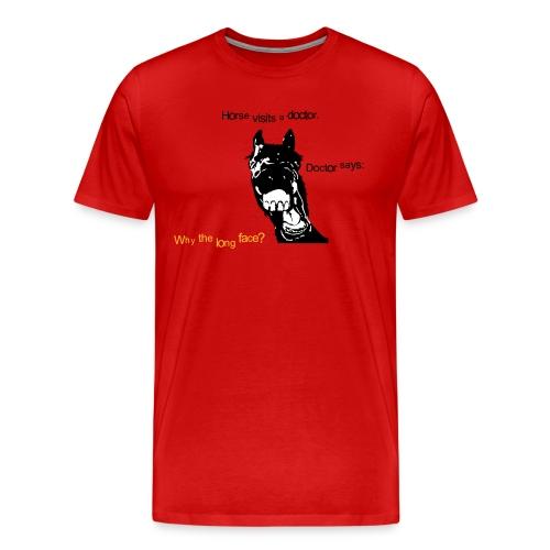 Best joke ever m - Men's Premium T-Shirt