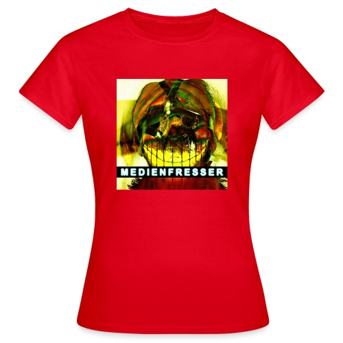 Ruby 632.01.3: Medienfresser - Frauen T-Shirt
