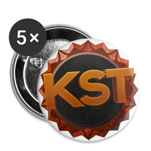 KsT Buttons - Buttons klein 25 mm