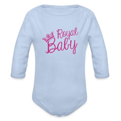 Romper - Royal Baby - Baby bio-rompertje met lange mouwen