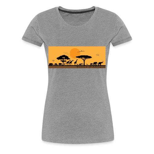 T-Shirt Terres d'Afrique 1 - T-shirt Premium Femme