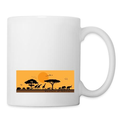 Tasse Terres d'Afrique 1 - Mug blanc