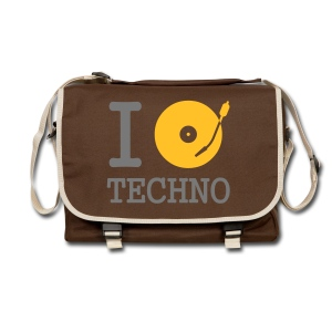 I PLAY TECHNO - Shoulder Bag - Shoulder Bag