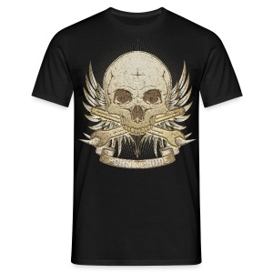 Born To Ride - Stone   Man - Männer T-Shirt