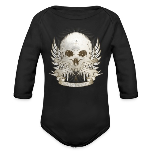 Born To Ride - Vintage   Baby - Baby Bio-Langarm-Body