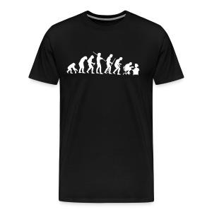 Evolution of Geek - Men's Premium T-Shirt