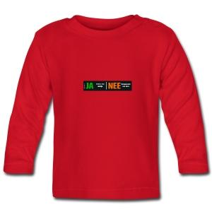 Ja, ik ben een meisje (babyshirt) - T-shirt