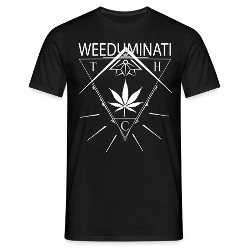 Weeduminati black - T-shirt Homme