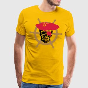 skull pirate T-Shirts - Men's Premium T-Shirt