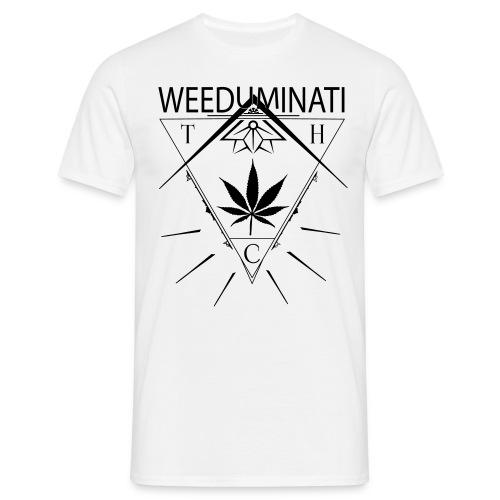 Weeduminati white - T-shirt Homme
