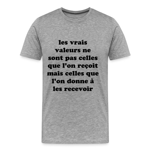 t-shirt citation - T-shirt Premium Homme