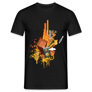 Party Beats - Classic Shirt - Männer T-Shirt