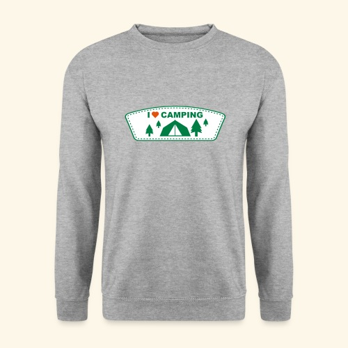 I Love Camping 3 couleurs au choix - Sweat-shirt Homme