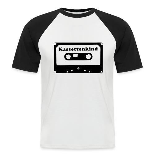 Kassettenkind - Männer Baseball-T-Shirt