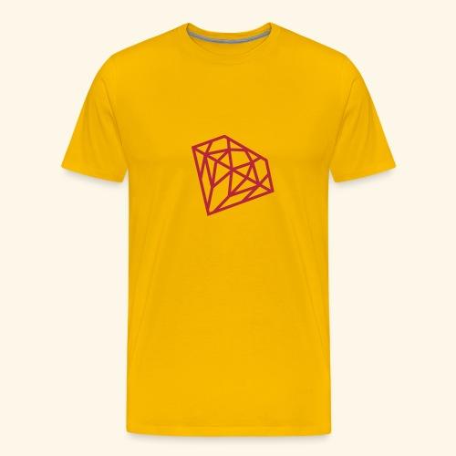 Diamant - T-shirt Premium Homme