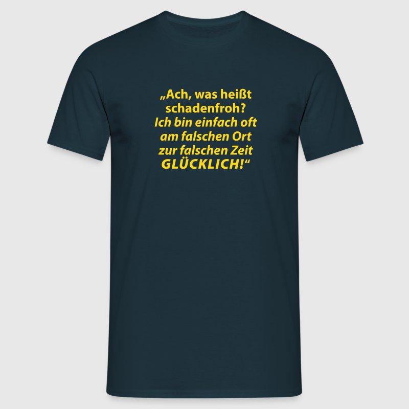 was hei t schadenfroh t shirt spreadshirt. Black Bedroom Furniture Sets. Home Design Ideas