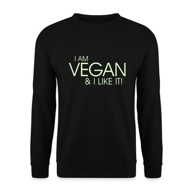 I am vegan and I like it