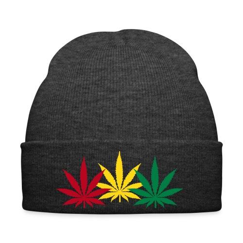 Bonnet Weed Jamaique. - Bonnet d'hiver